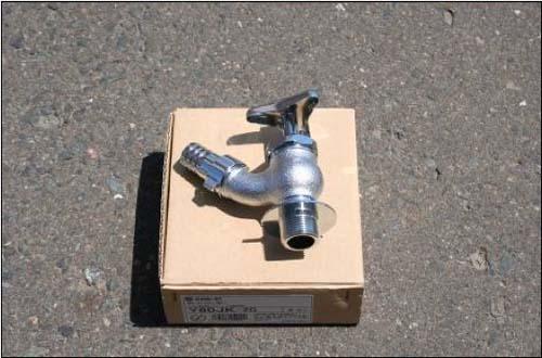 散水栓(寒冷地用) φ20 単価:5,200円/個