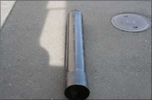 田区排水内筒管 単価:1,875円/m
